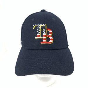 Tampa Bay Rays MLB Baseball New Era Patriotic Hat